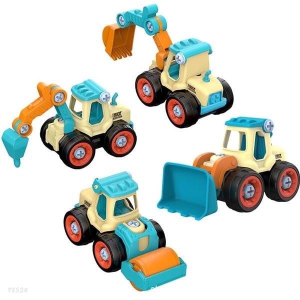 레츠토이 중장비 만들기 유아 diy 공구놀이세트 장난감