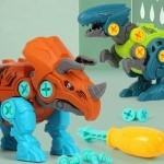 레츠토이 공룡 만들기 유아 diy 공구놀이세트 장난감