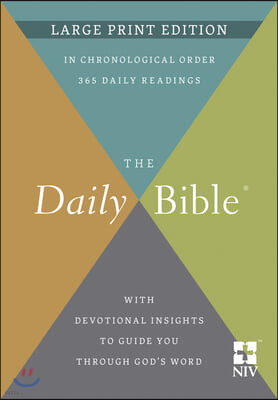 The Daily Bible(r) Large Print Edition
