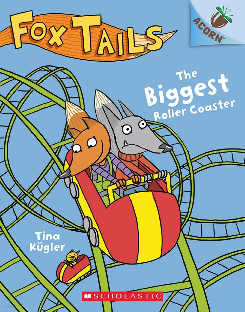 Fox Tails #02 : The Biggest Roller Coaster