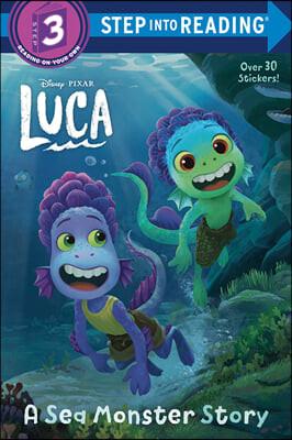 Step Into Reading 3 : A Sea Monster Story (Disney/Pixar Luca)
