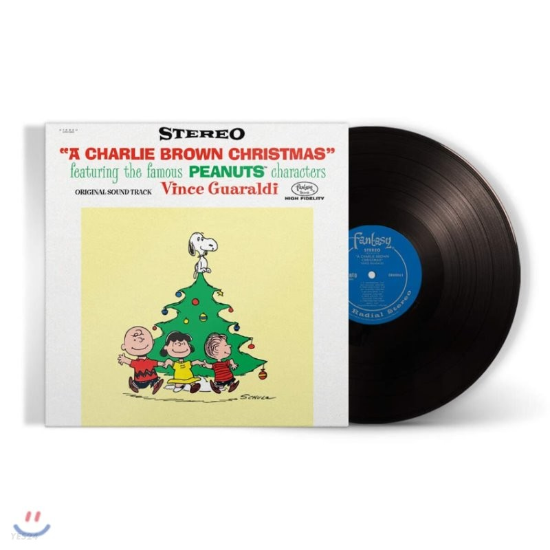 찰리 브라운 크리스마스 음악 (A Charlie Brown Christmas OST by Vince Guaraldi Trio) [LP]