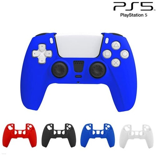 PS5 듀얼센스 무선컨트롤러 실리콘 커버 / 패드 실리콘케이스 / 벌크