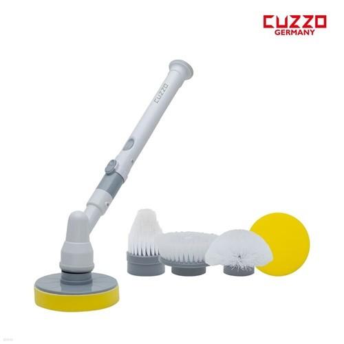 [쿠조] 다양한브러쉬 방수 무선 다용도 욕실청소기