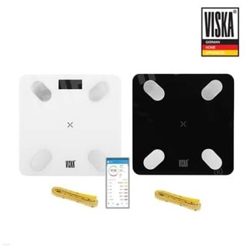 비스카 블루투스 체지방 체중계 VK-S1 (줄자포함...