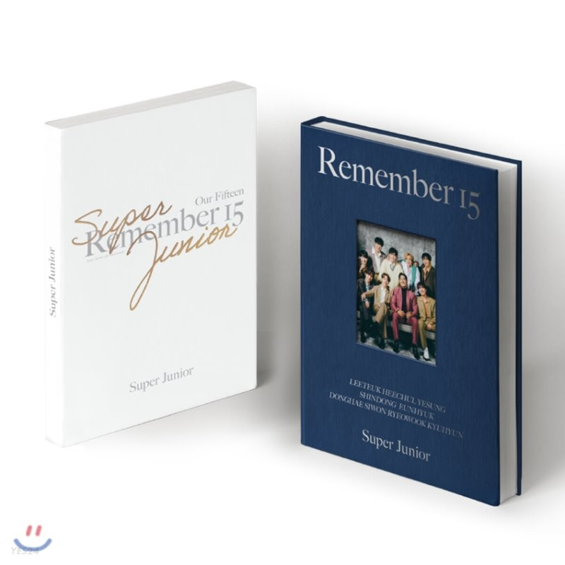 슈퍼주니어 (Super Junior) - SUPER JUNIOR 15th ANNIVERSARY PHOTO BOOK [REMEMBER 15]
