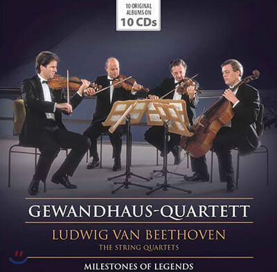 Gewandhaus-Quartett 베토벤: 현악사중주 전곡 - 게반트하우스 콰르텟 (Beethoven: Complete String Quartet)