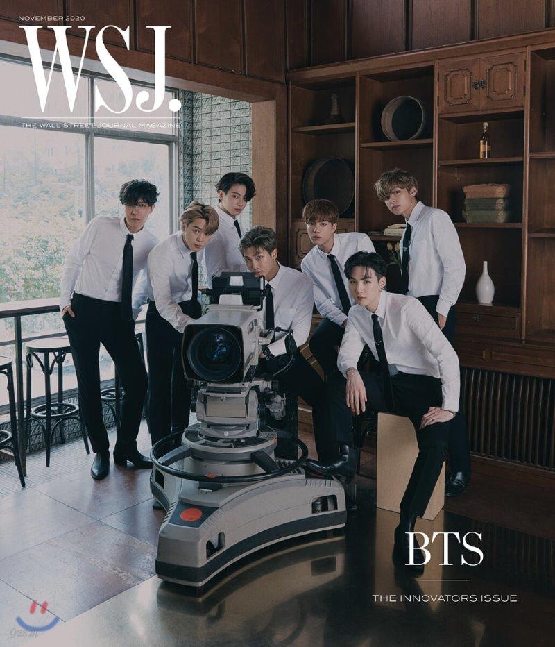 [단체]The Wall Street Journal USA (월간) : 2020년 11월 : BTS 방탄소년단 커버