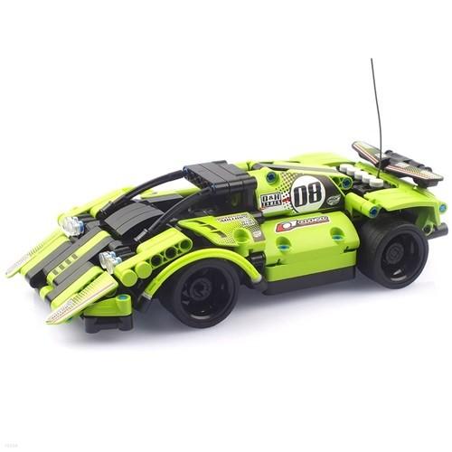 27Mhz 블록테크닉 자동차 2in1 블록RC 335pcs 그린 (CBT291205)