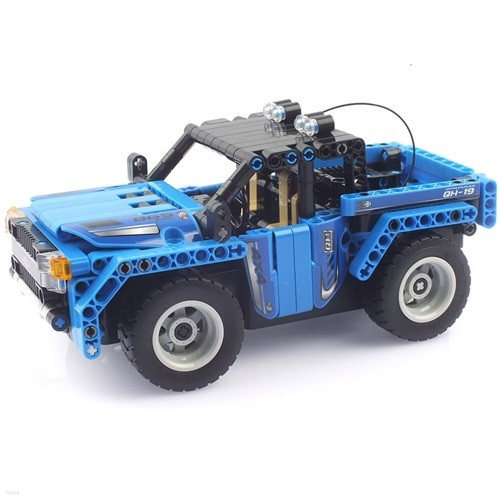 27Mhz 블록테크닉 자동차 2in1 블록RC 353pcs 블루 (CBT291199)