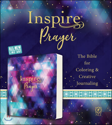 Inspire Prayer Bible NLT (Softcover): The Bible for Coloring & Creative Journaling