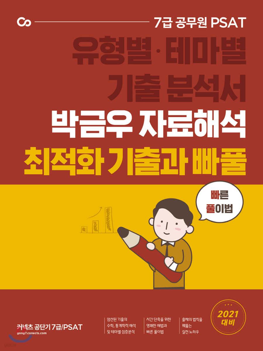 2021 박금우의 7급 PSAT 자료해석 테마별 최적화 기출과 빠풀