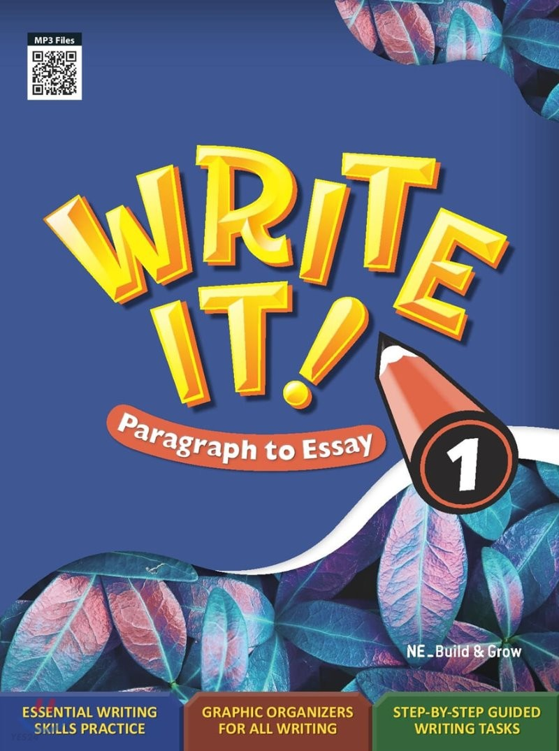 Write It! Paragraph to Essay 1