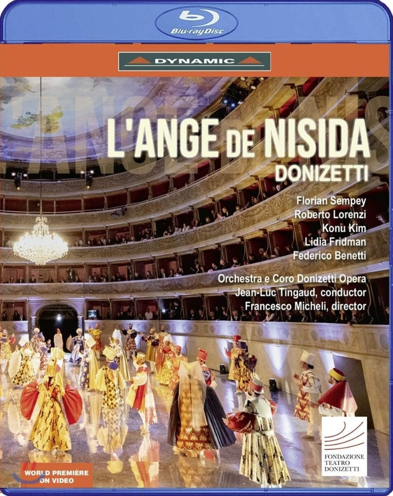Jean-Luc Tingaud 도니체티: 오페라 '니시다의 천사' (Donizetti: L'ange De Nisida)