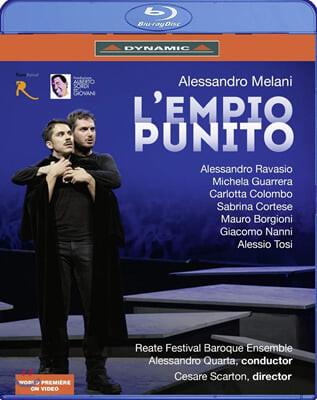 Alessandro Ravasio 알레산드로 멜라니: 오페라 '악당 처단' (Alessandro Melani: L'Empio Punito)