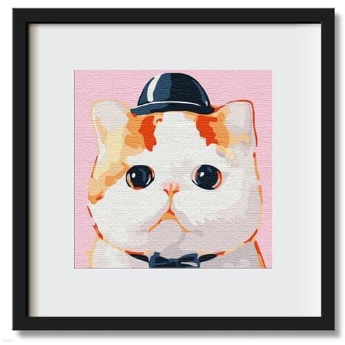 명화그리기 고양이 피포페인팅 유화그림 직장인취미