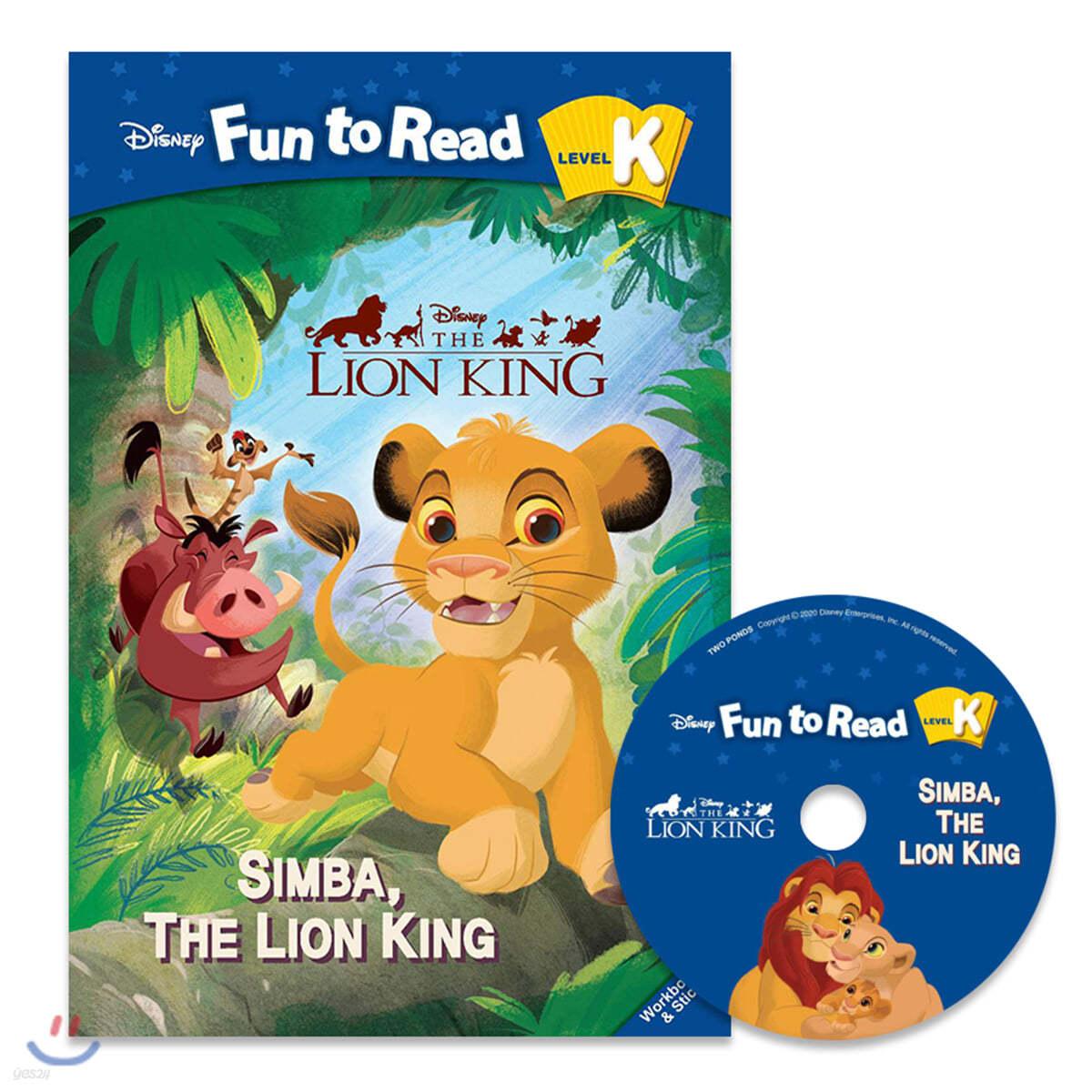 Disney Fun to Read Set K-12 /Simba, the Lion King (Lion King)