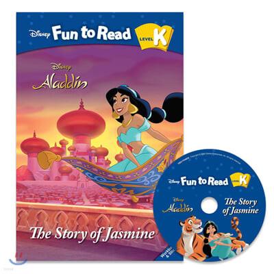 Disney Fun to Read Set K-15 / The Story of Jasmine (Aladdin)