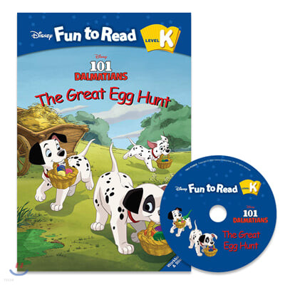 Disney Fun to Read Set K-17 / The Great Egg Hunt(101 Dalmatians)