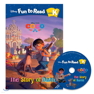 Disney Fun to Read Set K-18 / The Story of Dante(Coco)
