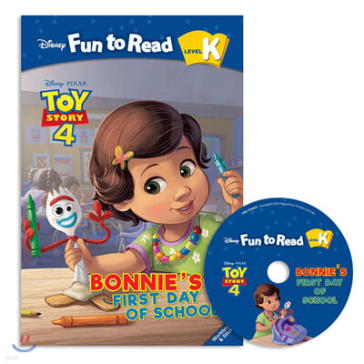 Disney Fun to Read Set K-20 / Bonnie's First Day of School(Toy story4)