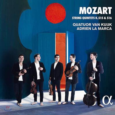 Quatuor Van Kuijk / Adrien La Marca 모차르트: 현악 5중주 (Mozart: String Quintets K. 515, 516)