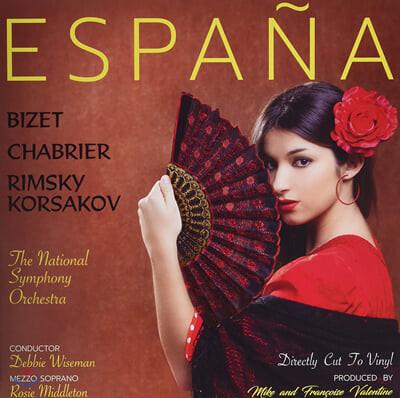 Debbie Wiseman 비제 / 엠마누엘 샤브리에 / 림스키-코르사코프: 스페인을 주제로 한 작품 모음집 (Espana - Tribute To Spain) [LP]