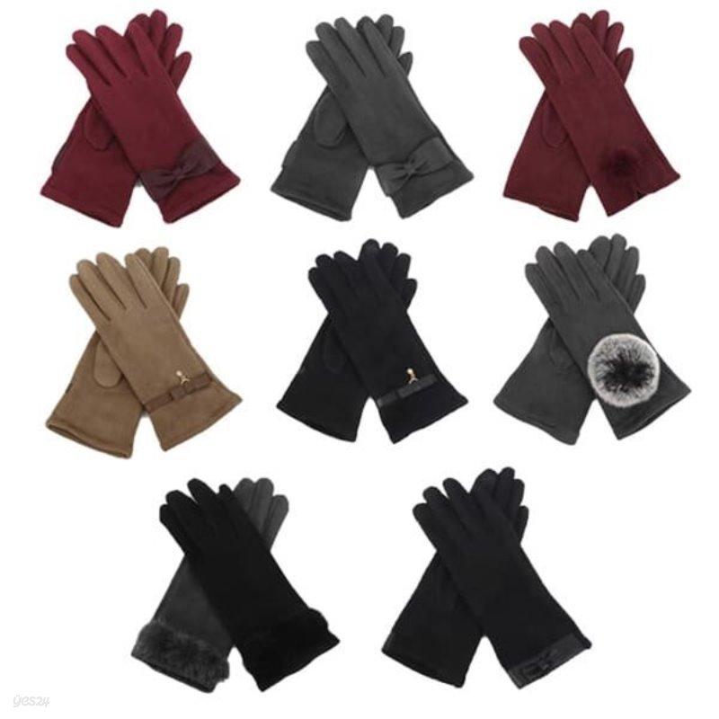 [슈퍼특가: 9,900원][무료배송] 기라로쉬 성인 스웨이드 장갑