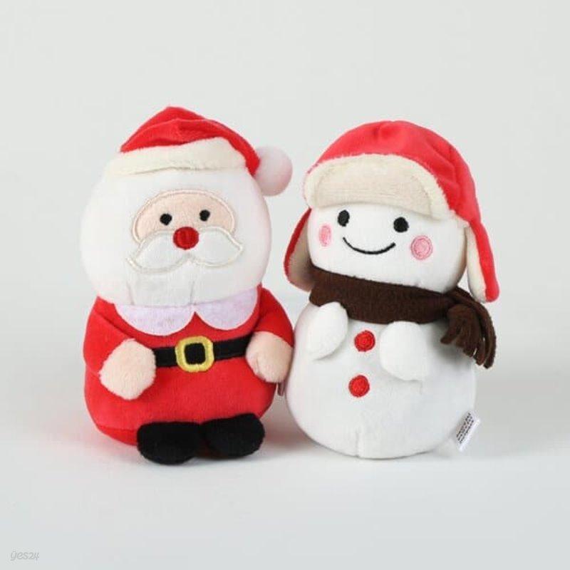 모찌타운 산타 눈사람 손난로 미니 핫팩인형