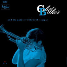 Chet Baker (쳇 베이커) - Chet Baker And His Quintet With Bobby Jaspar (Barclay 1956) [LP]
