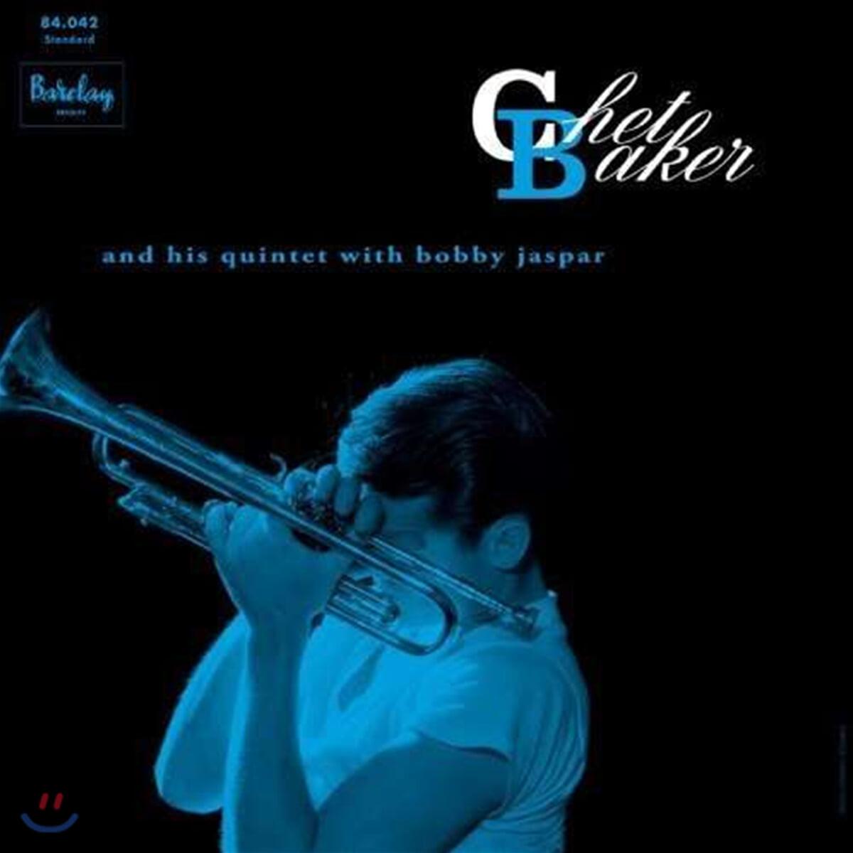 Chet Baker (쳇 베이커) - Chet Baker And His Quintet With Bobby Jaspar (Barclay 1956) [LP]