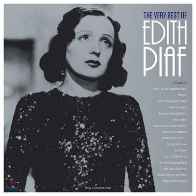 Edith Piaf (에디뜨 피아프) - The Very Best of Edith Piaf [투명 컬러 LP]