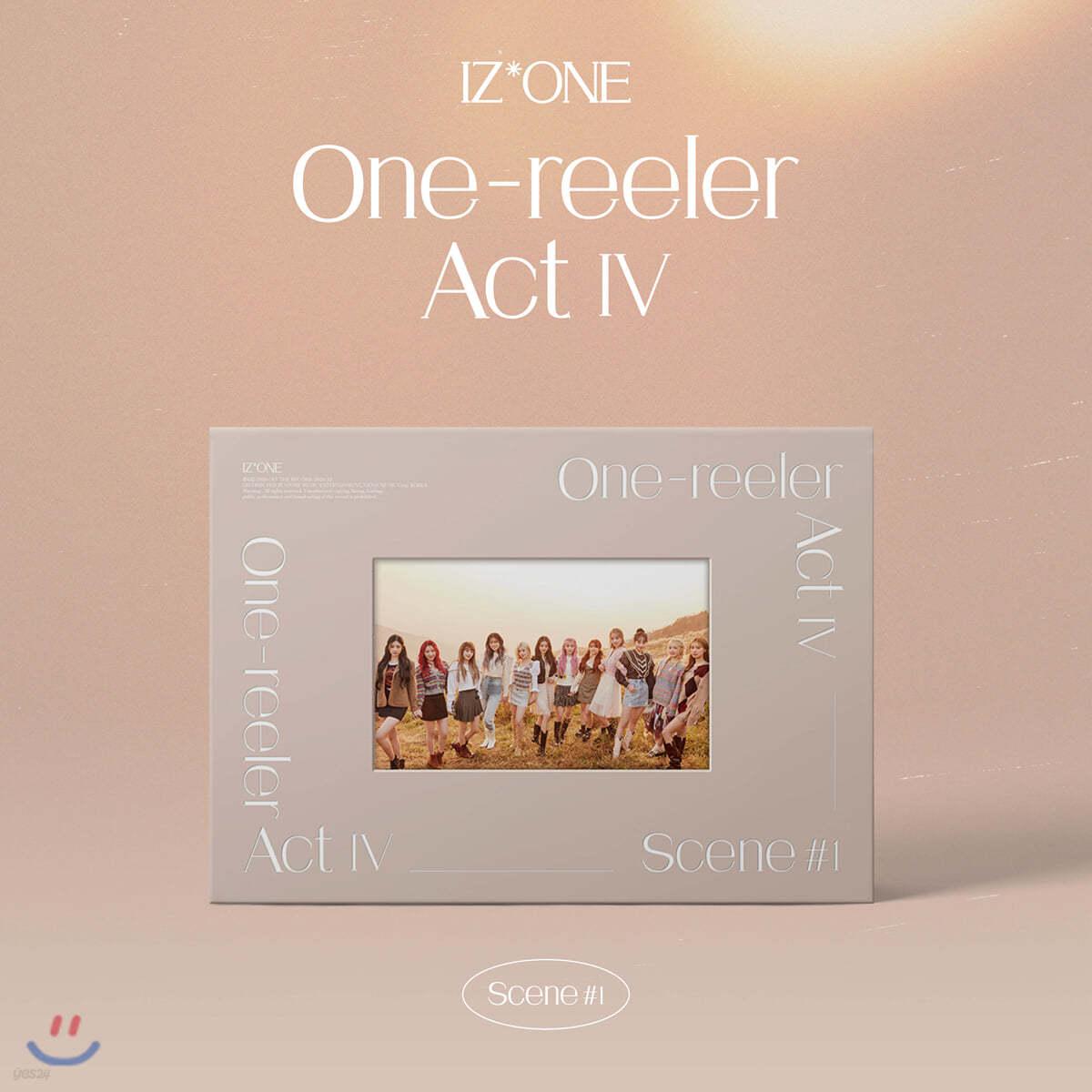 [1회차(원영,민주,히토미,은비) 응모상품] 아이즈원 (IZ*ONE) - 미니앨범 4집 : One-reeler / Act IV [Scene #1 'Color of Youth']