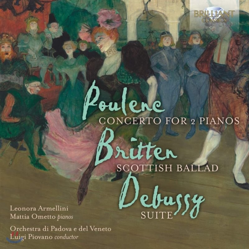 Luigi Piovano 2대의 피아노와 관현악을 위한 협주곡 - 풀랑크 / 브리튼 / 드뷔시 (Poulenc / Britten / Debussy: Concerto for 2 Pianos)