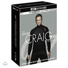 다니엘 크레이그 4-Movie 콜렉션 (8Disc, 4K UHD) : 블루레이