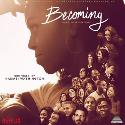 넷플릭스 '미셸 오바마의 비커밍' 다큐멘터리 음악 (Becoming OST by Kamasi Washington 카마시 워싱턴) [LP]
