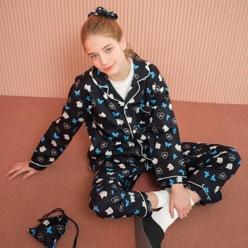 Awesome cat-black(Pajamas)