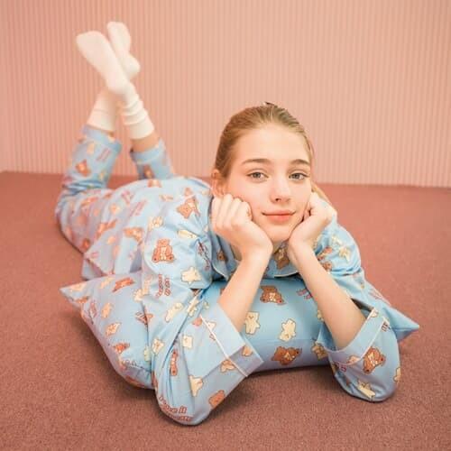 I love it nini-sky blue(Pajamas)