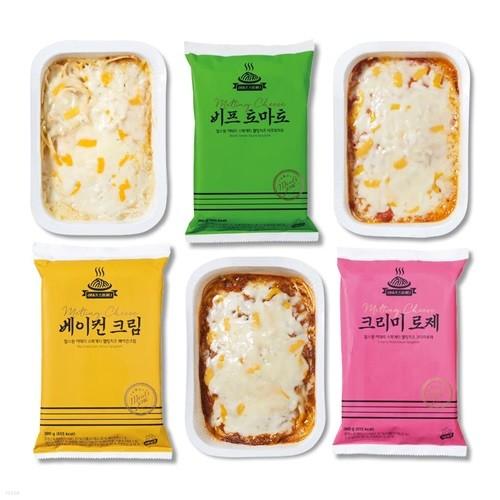 [밀스원] 멜팅치즈 이태리 스파게티 3종 3팩