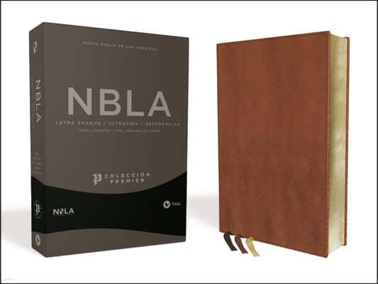 Nbla Biblia Ultrafina, Coleccion Premier, Caramelo: Edicion Limitada