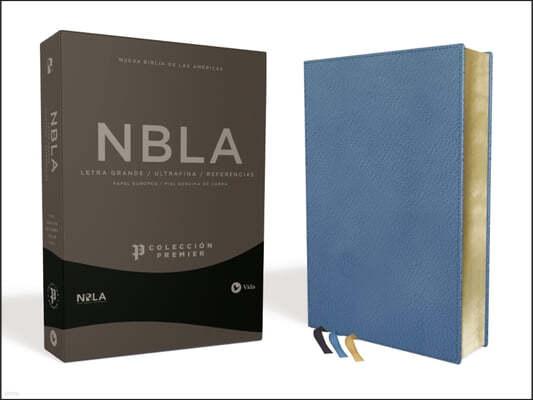 Nbla Biblia Ultrafina, Coleccion Premier, Azul: Edicion Limitada