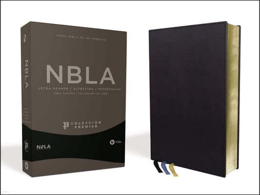 Nbla Biblia Ultrafina, Coleccion Premier, Azul Marino: Edicion Limitada