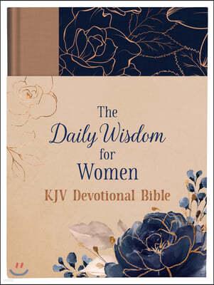The Daily Wisdom for Women KJV Devotional Bible