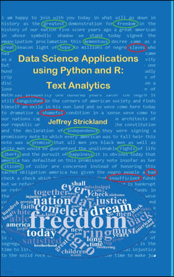 Data Science Applications using Python and R: Text Analytics