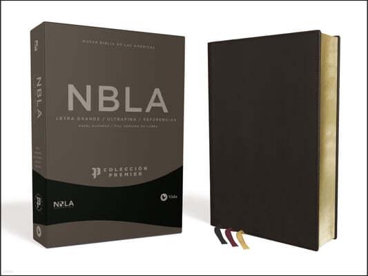 Nbla Biblia Ultrafina, Coleccion Premier, Negro