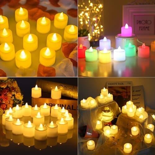 LED촛불 티라이트 캔들 1p 전기초 전자양초 프러...
