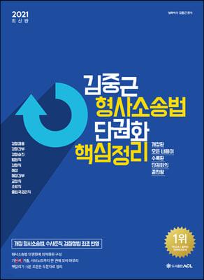 2021 ACL 김중근 형사소송법 단권화 핵심정리