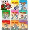 [초슬림케이스] 톰과 제리 8종 (Tom & Jerry 8DVD) + 스노우캔디 율동동요(크리스마스 캐롤)