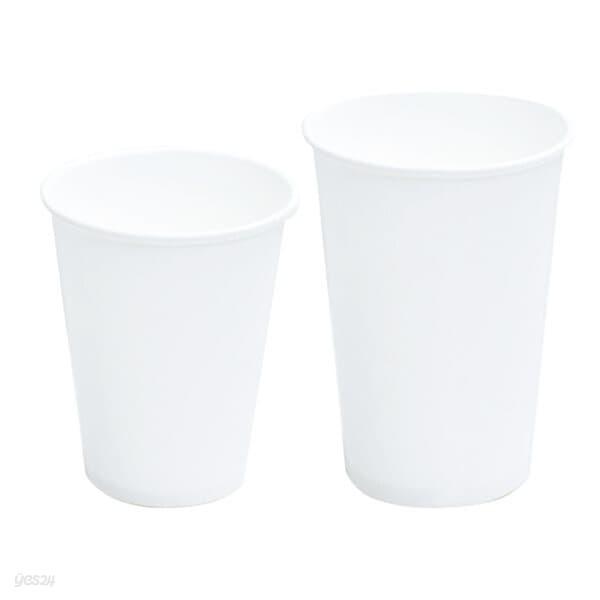 [현대크린] 종이컵 무지 8oz 1000입 1box