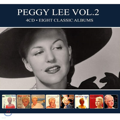 Peggy Lee (페기 리) - Vol. 2 Eight Classic Albums